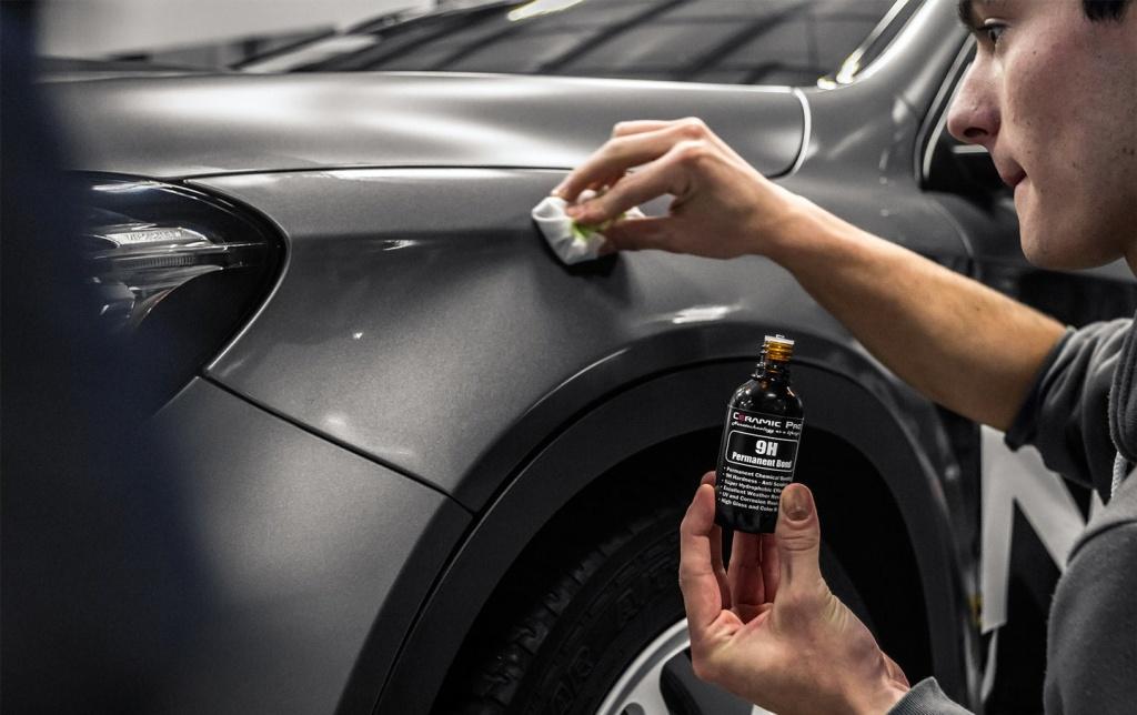 Покрытие авто керамикой: технология и этапы