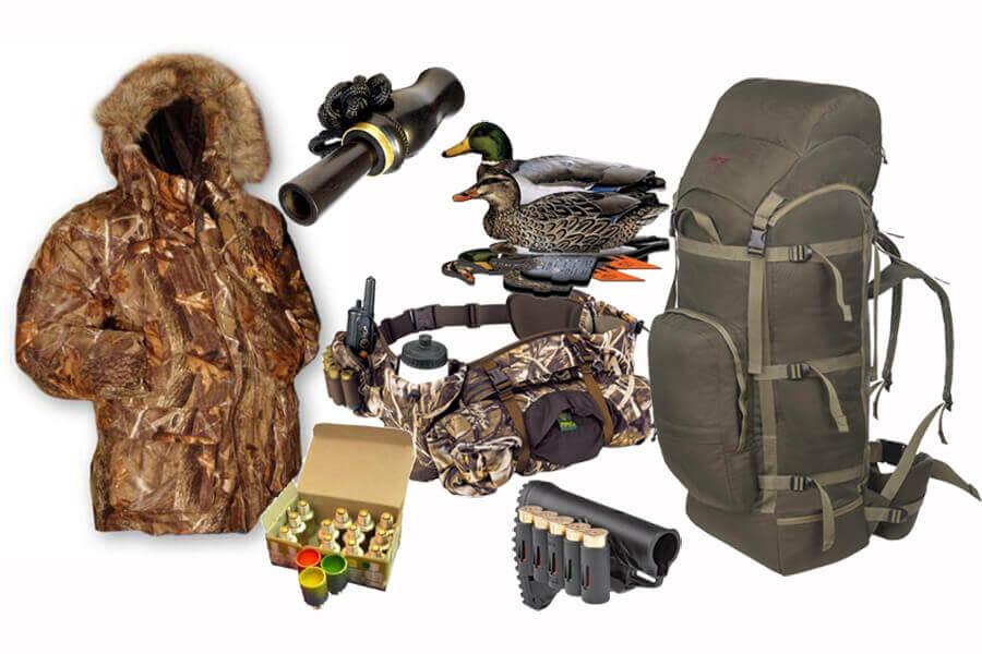 Снаряжение для охотника и рыболова